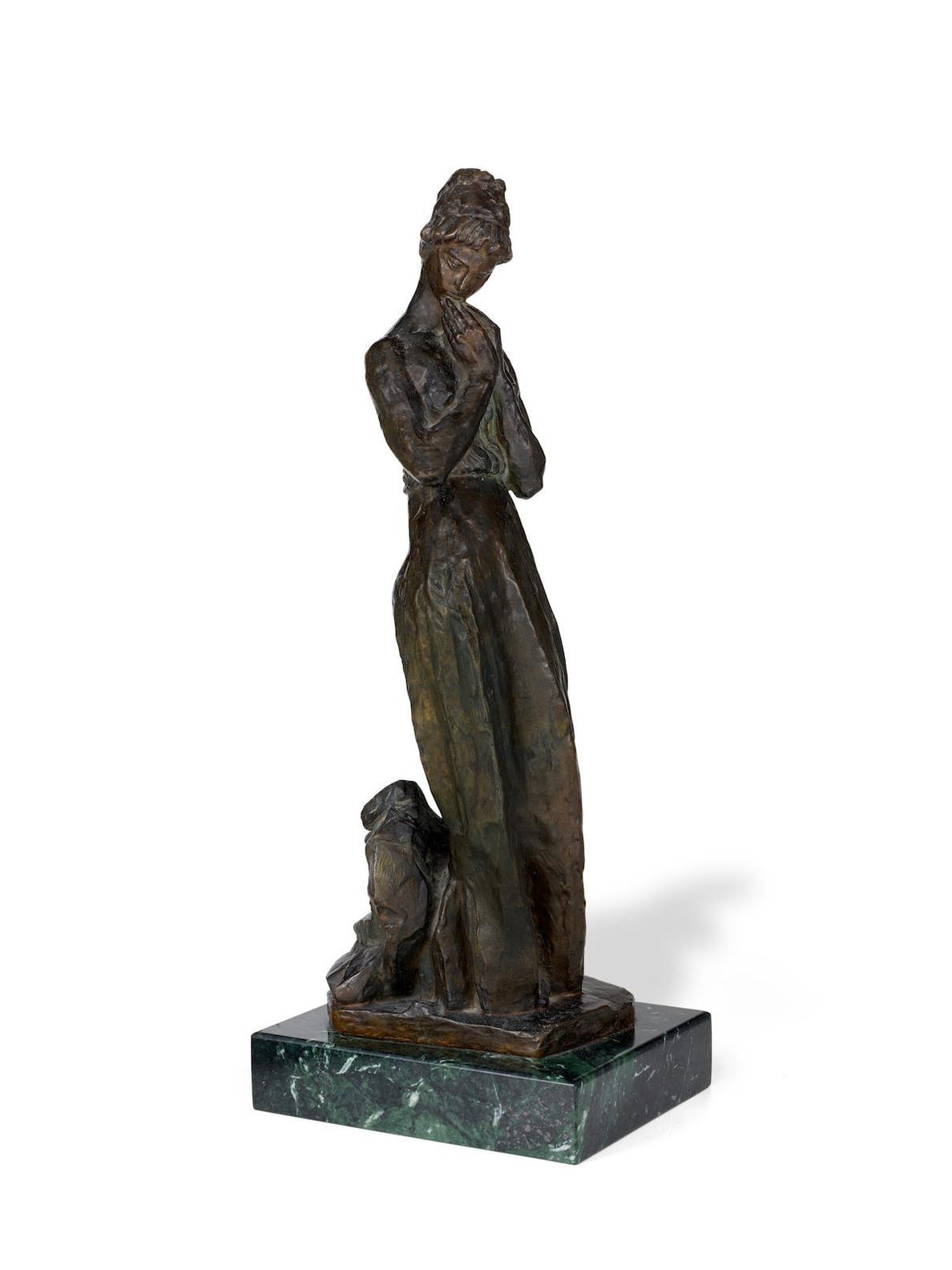 Antoine Bourdelle-Modele Timide, Premiere Epreuve-1929