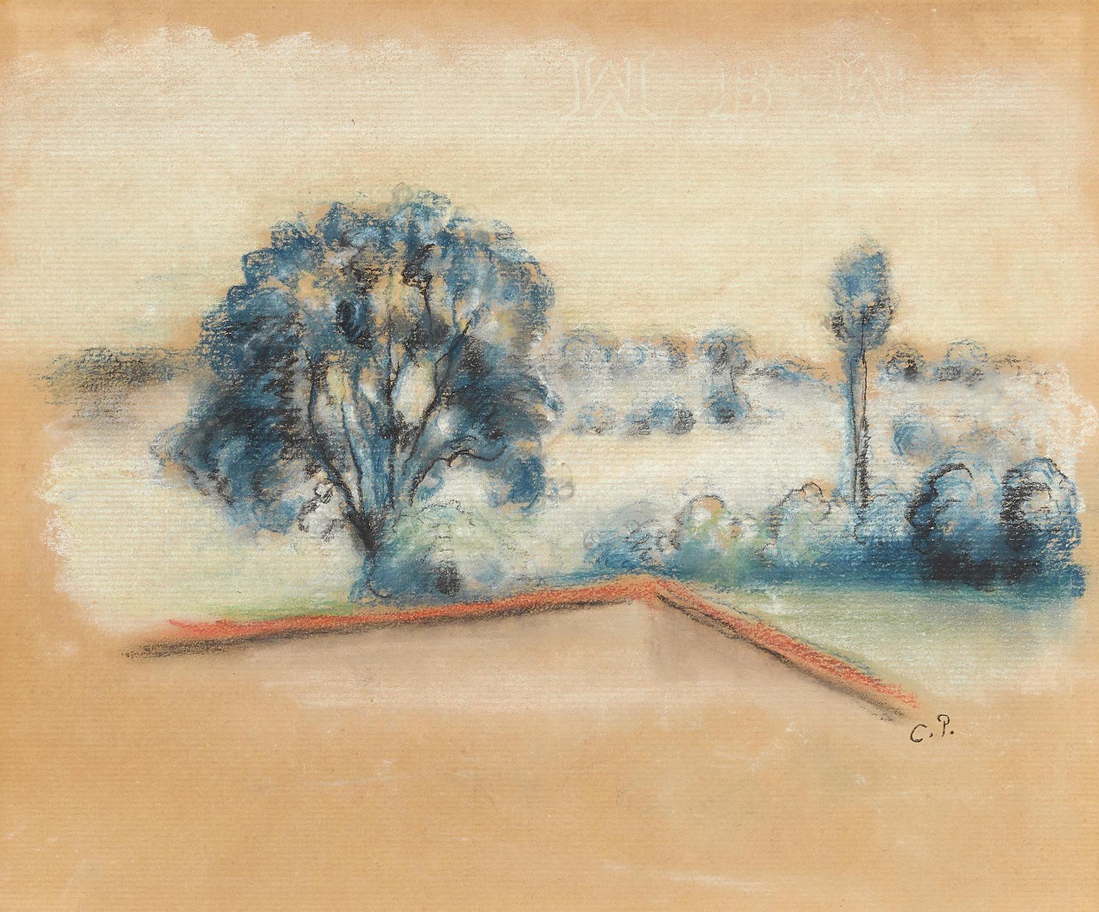 Camille Pissarro-Paysage-