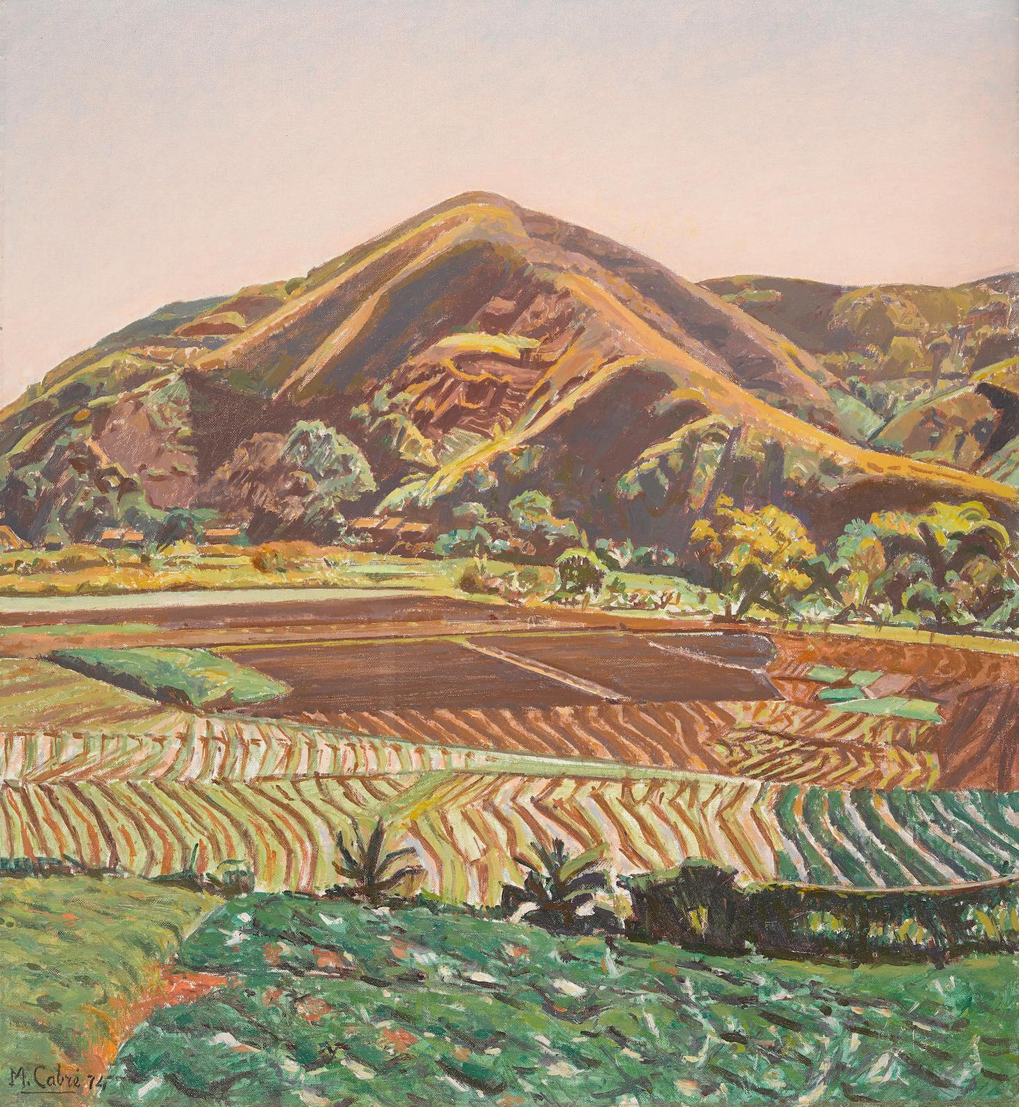 Manuel Cabre - En La Rute De Guatire (La Silla Desde La Urbina)-1974
