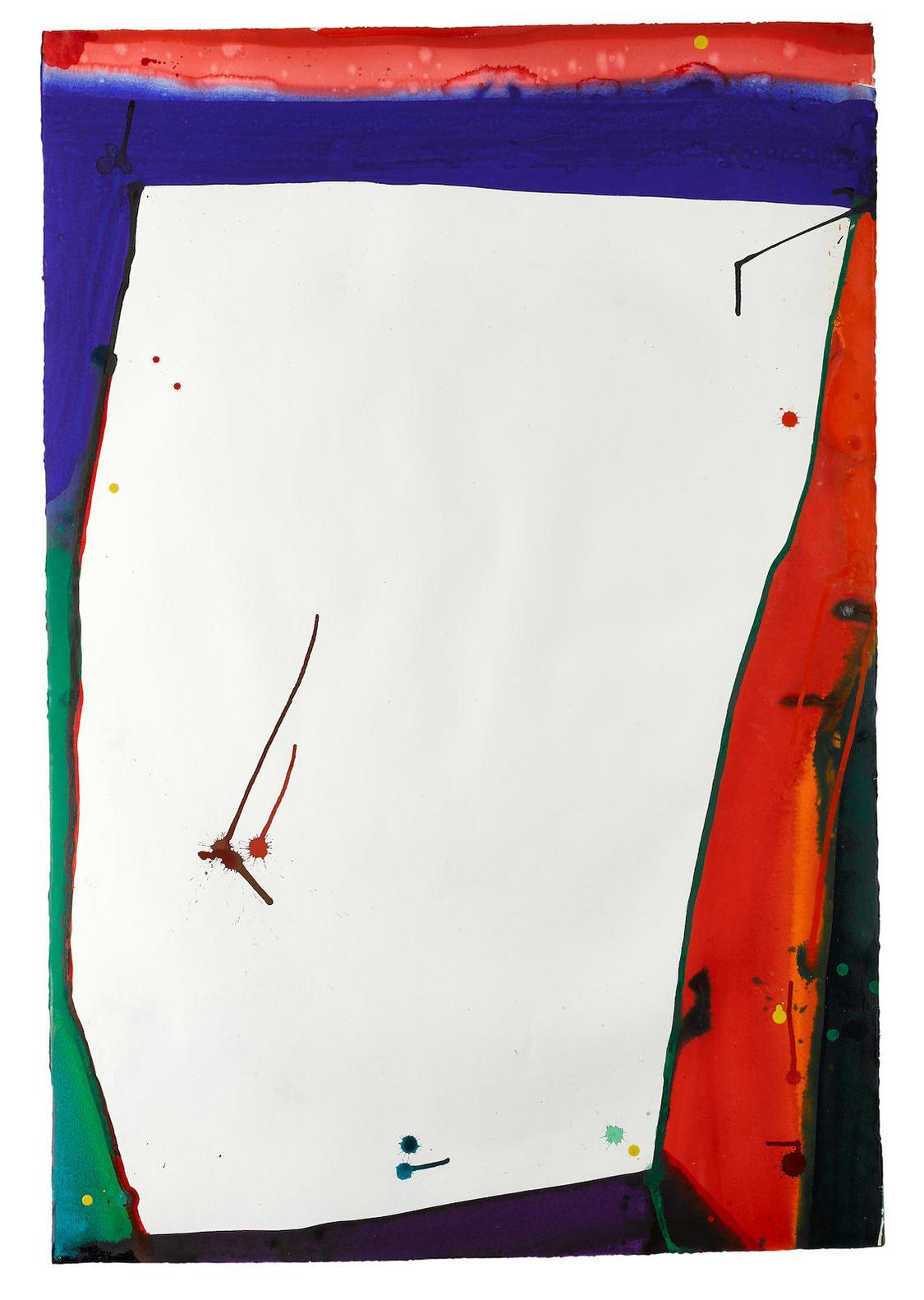 Sam Francis-Untitled (Sf67-067)-1967