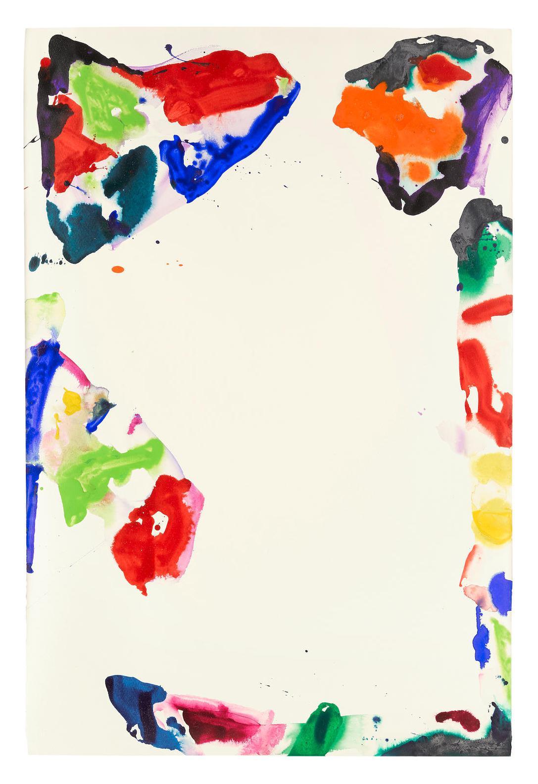 Sam Francis-Untitled (Sf68-44)-1970