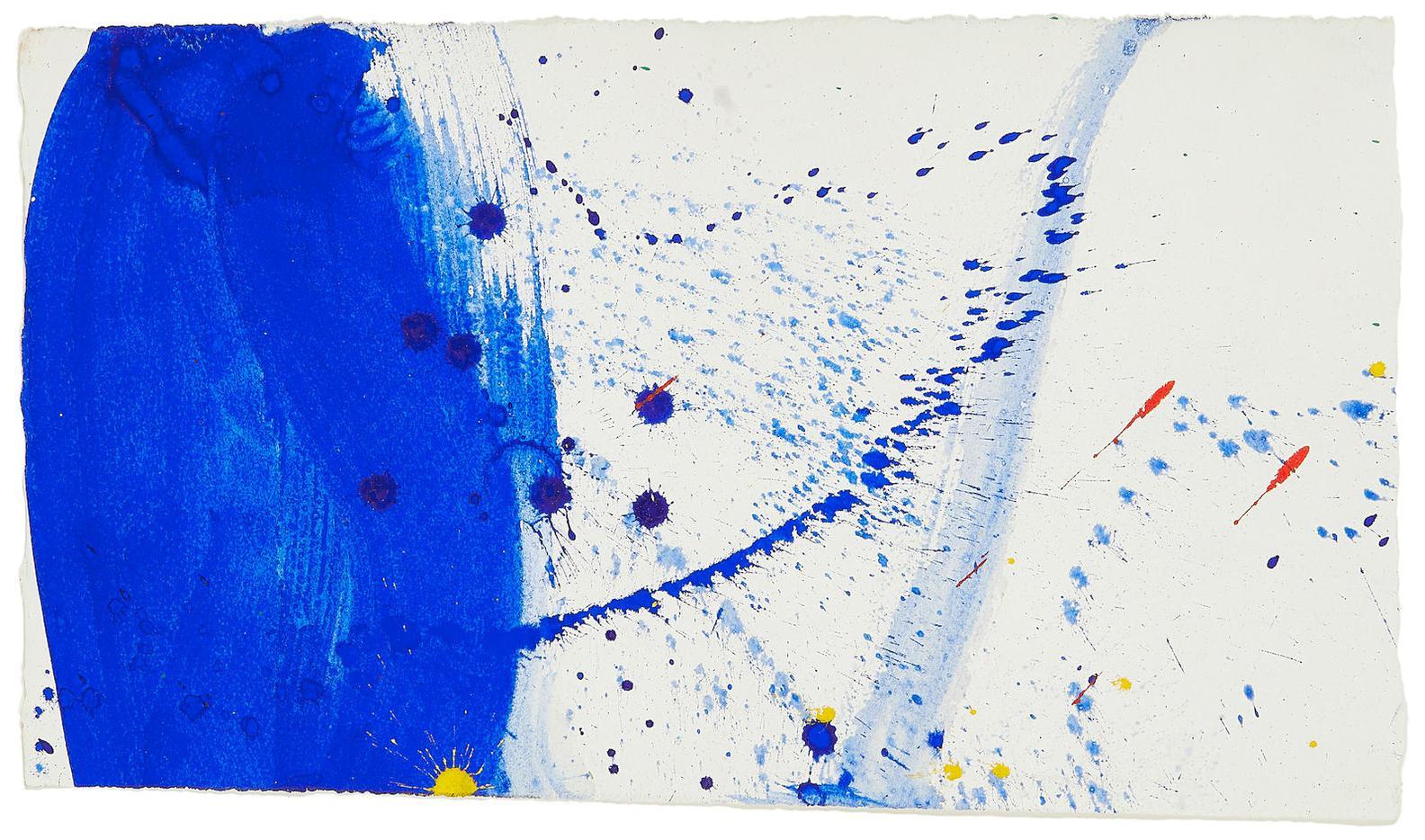 Sam Francis-Untitled (Sf60-1261)-1960