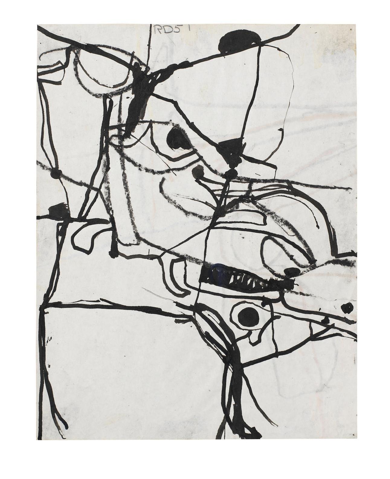 Richard Diebenkorn-Untitled-1951