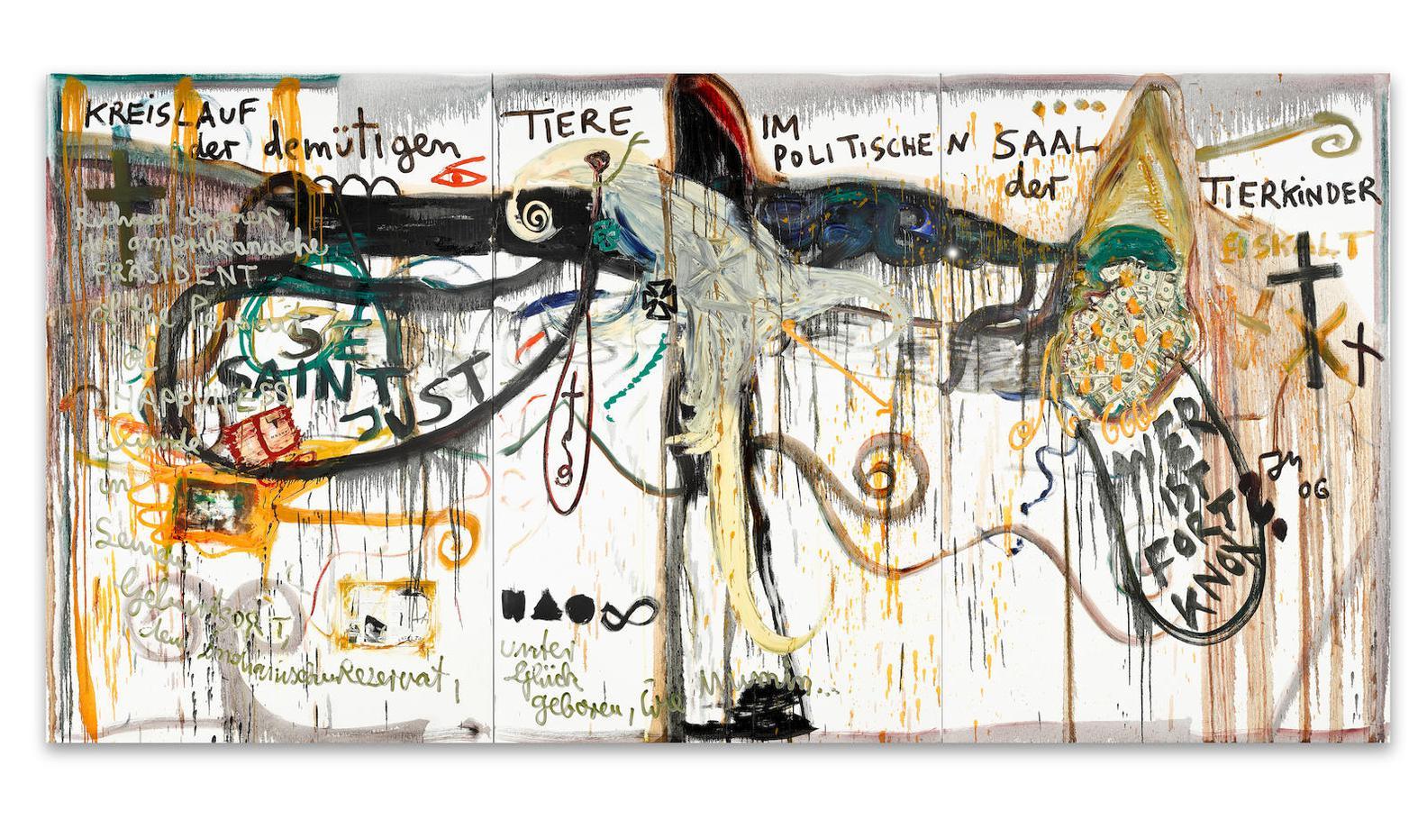 Jonathan Meese-Kampf Um Mars-2006
