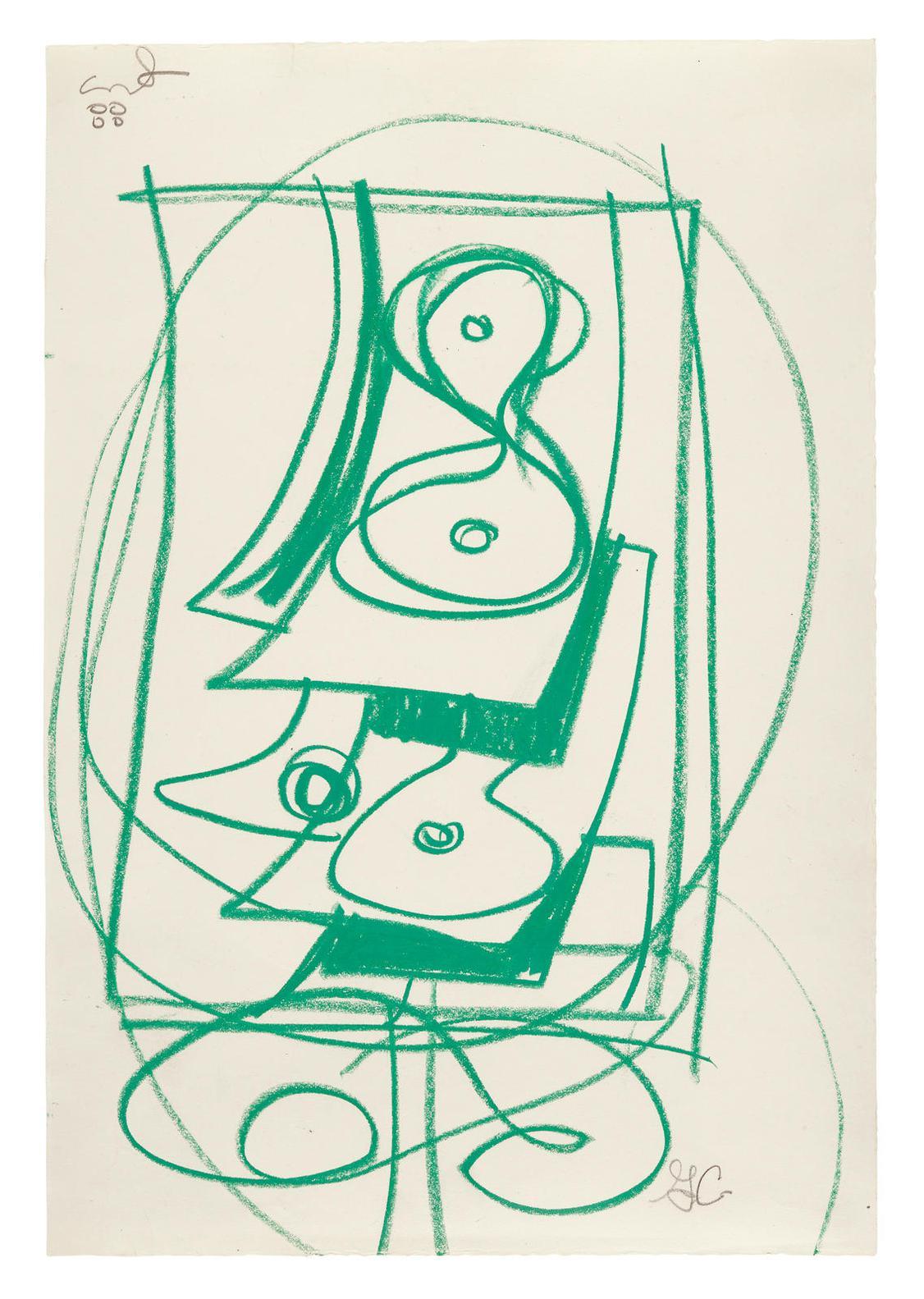 George Condo-Untitled-1988