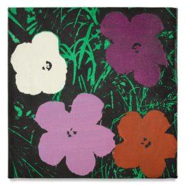 Elaine Sturtevant-Warhols Flowers-1968