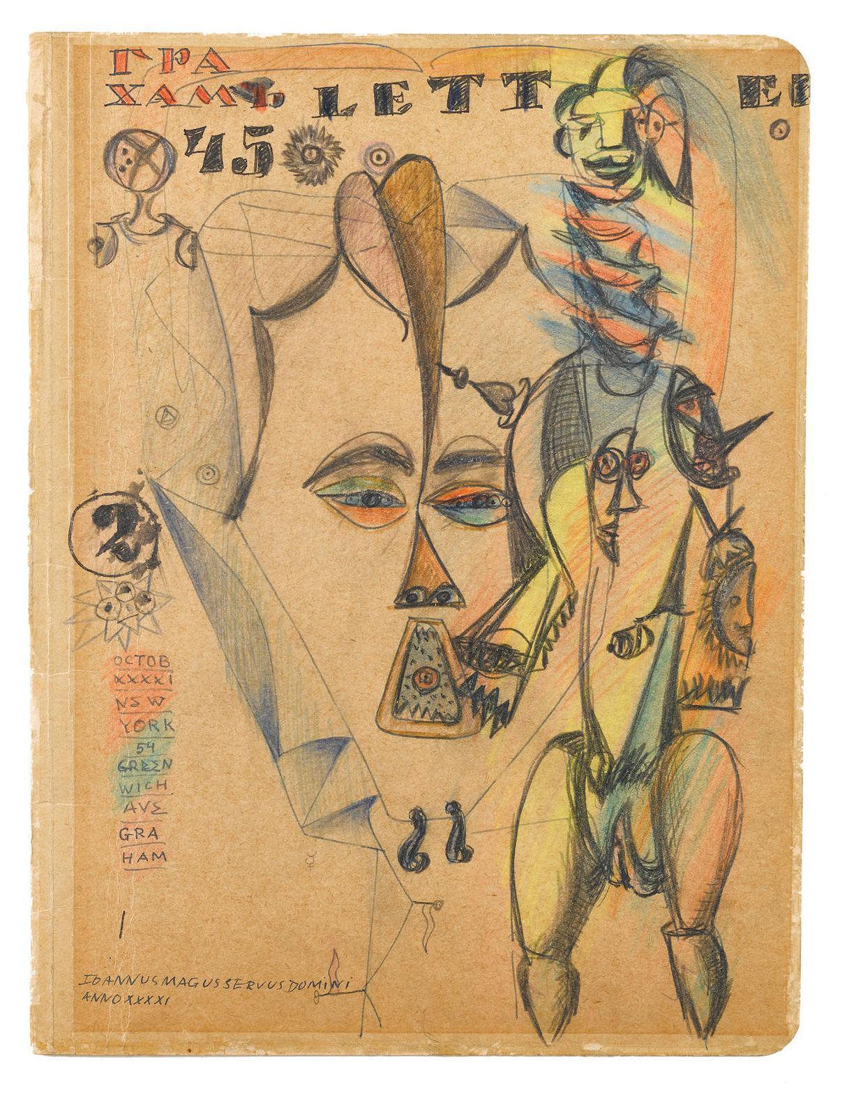 John D. Graham-Untitled-1941