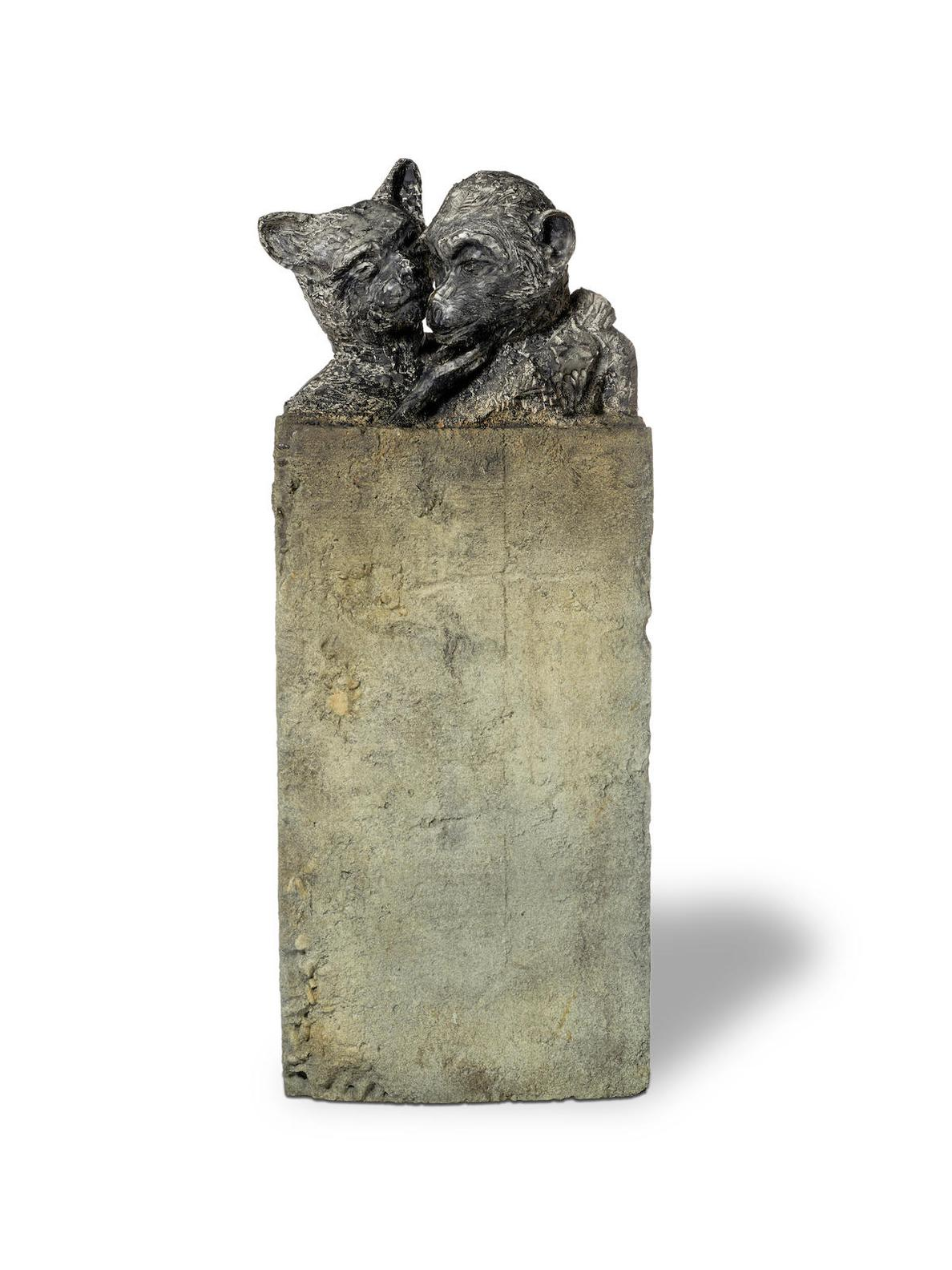 Jim Dine-Ape And Cat (Waning Of The Moon)-1992