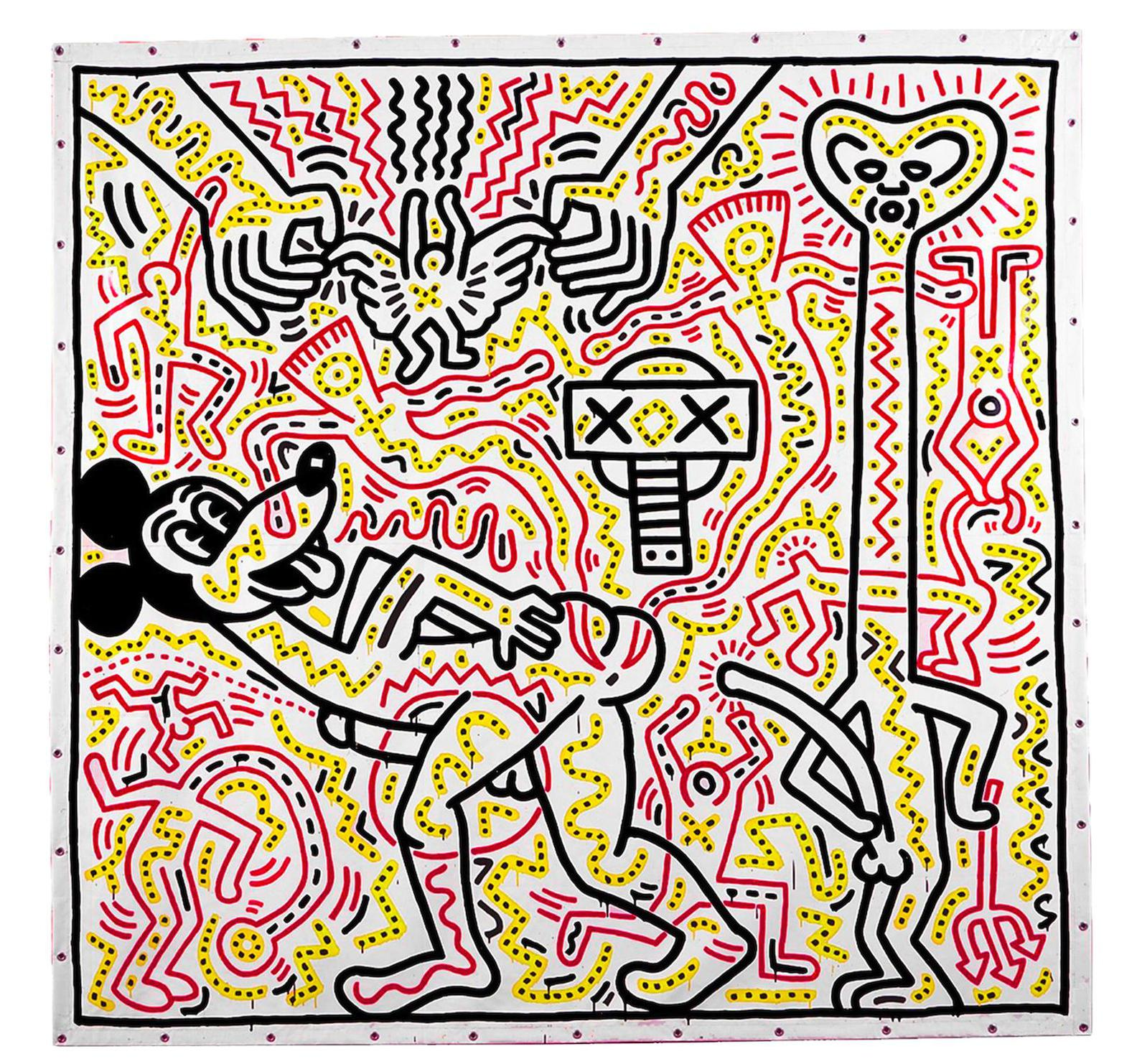 Keith Haring-Untitled-1983