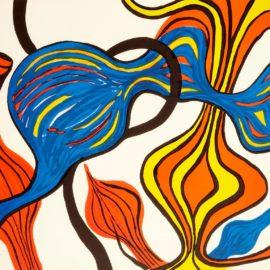 Alexander Calder-Galactic System-1974