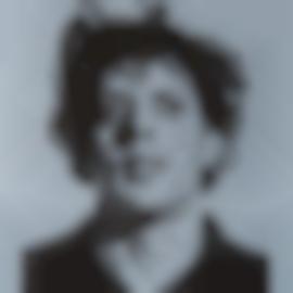 Chuck Close-Phil (Grey)-2002