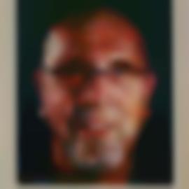 Chuck Close-Self-Portrait-2012