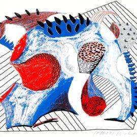 David Hockney-Untitled For Joel Wachs (G. 93-1348)-1993