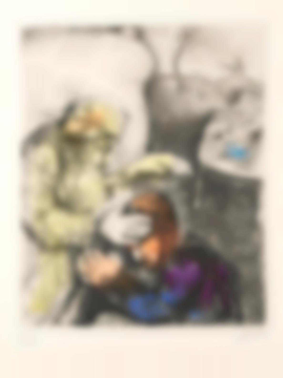 Marc Chagall-La Bible: Five Plates (V.211, 238, 283, 296, 301; C. Bk. 30), 1931-39-1939