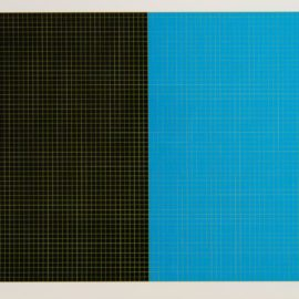 Sol LeWitt-#5; #34, From Grids And Color (L 1979.01; S-31)-1979