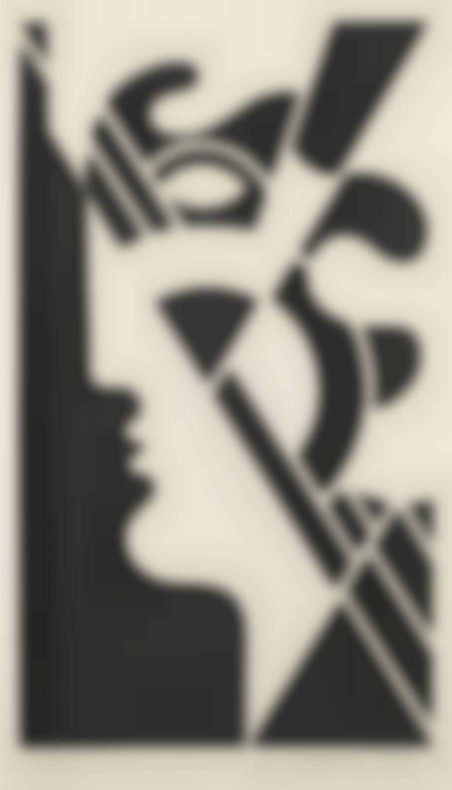 Roy Lichtenstein-Modern Head #5 (C. 95)-1970