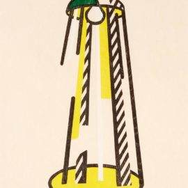 Roy Lichtenstein-Lamp (C.182)-1981