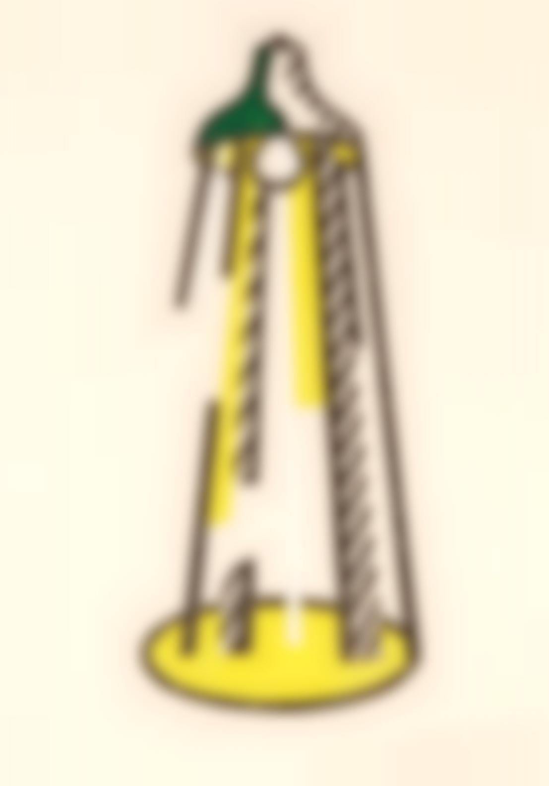 Roy Lichtenstein-Lamp (C.182)-1981