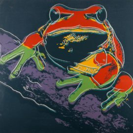 Andy Warhol-Pine Barrens Tree Frog, From Endangered Species (F. & S. II.294)-1983