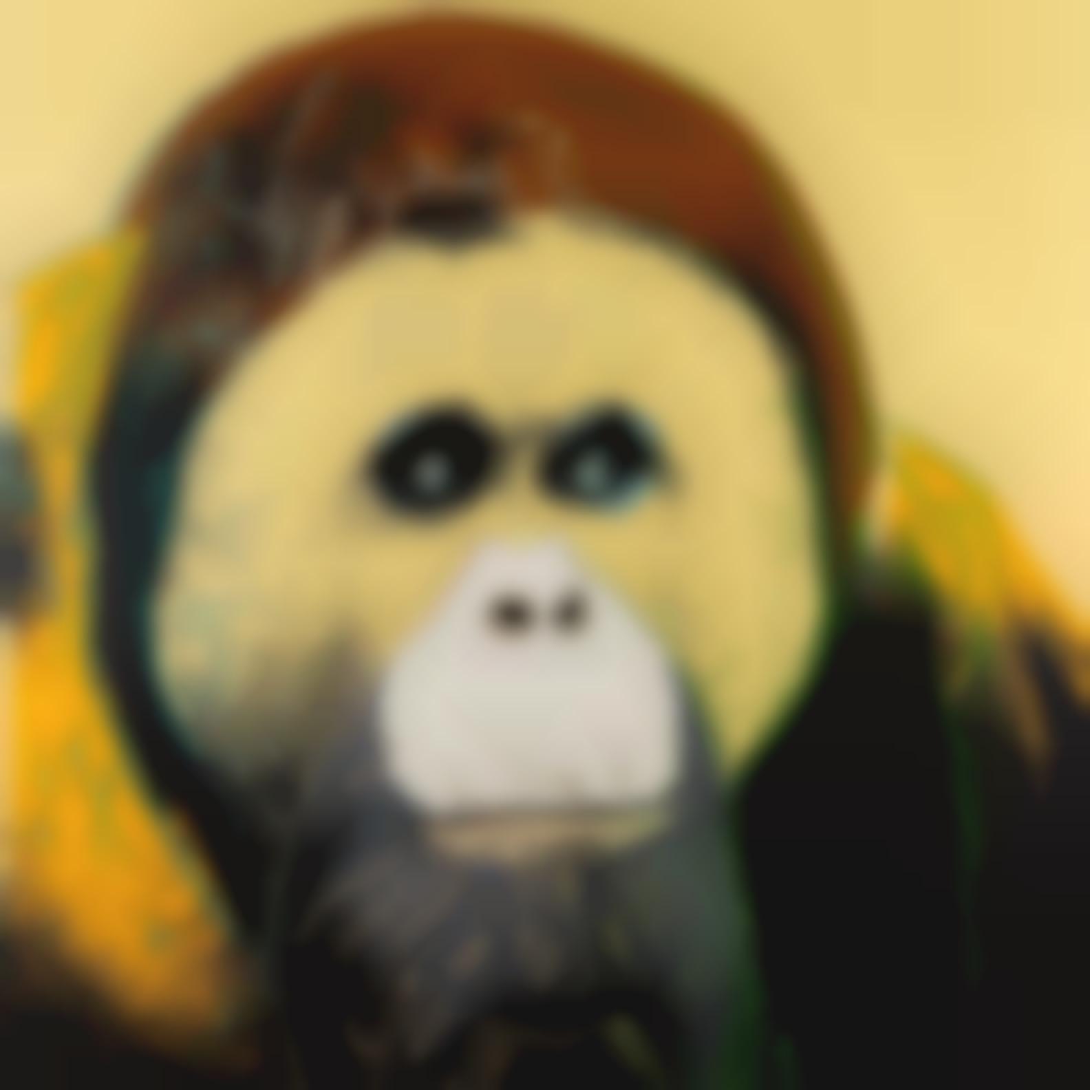 Andy Warhol-Orangutan, From Endangered Species (F. & S. II.299)-1983