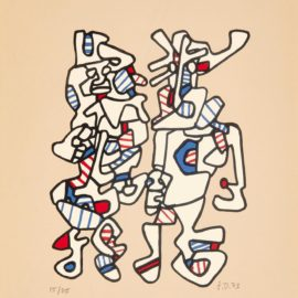 Jean Dubuffet-Parade Nuptiale (W. 1099)-1973