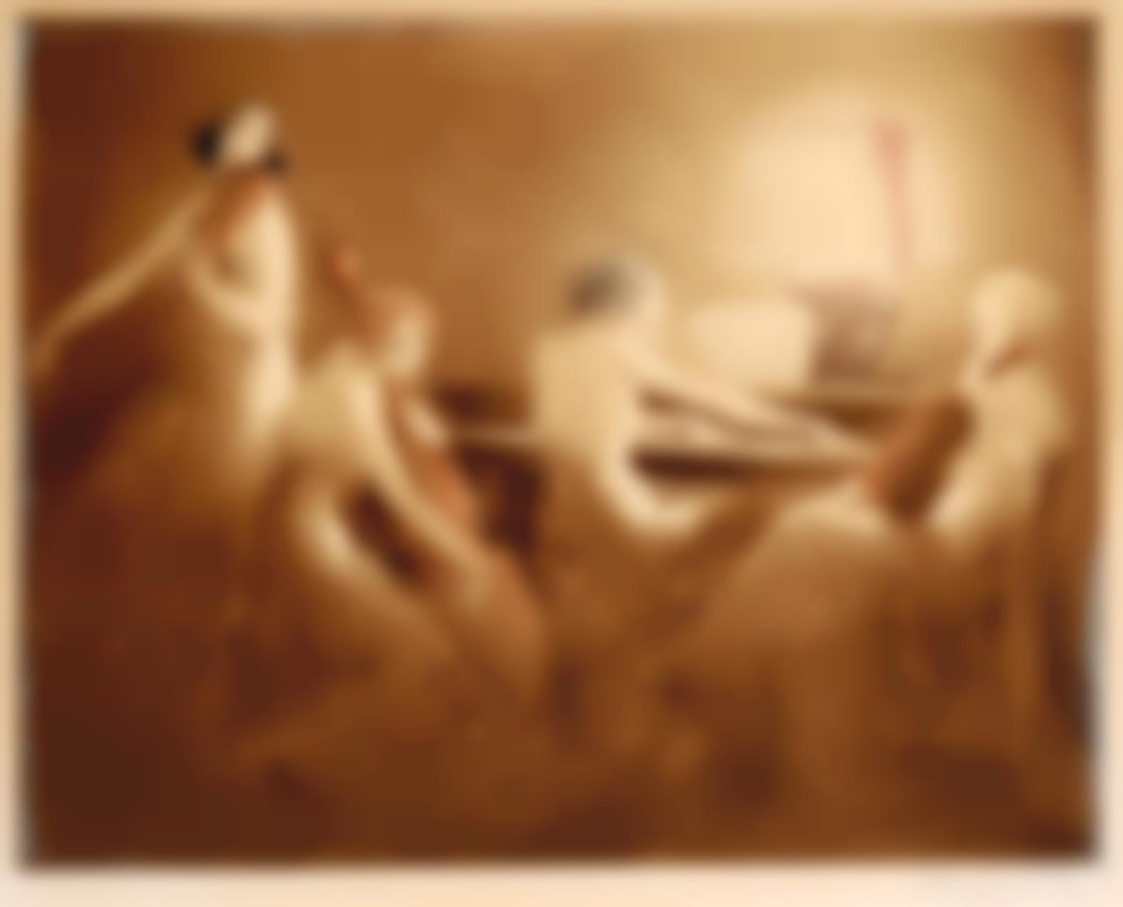 Louis Icart-Melody Hour; Mardi Gras (I. 6, I. 3)-1934
