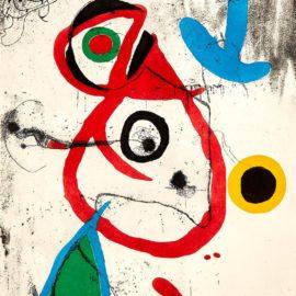 Joan Miro-Barcelona VIII (D. 600, C. 173)-1973