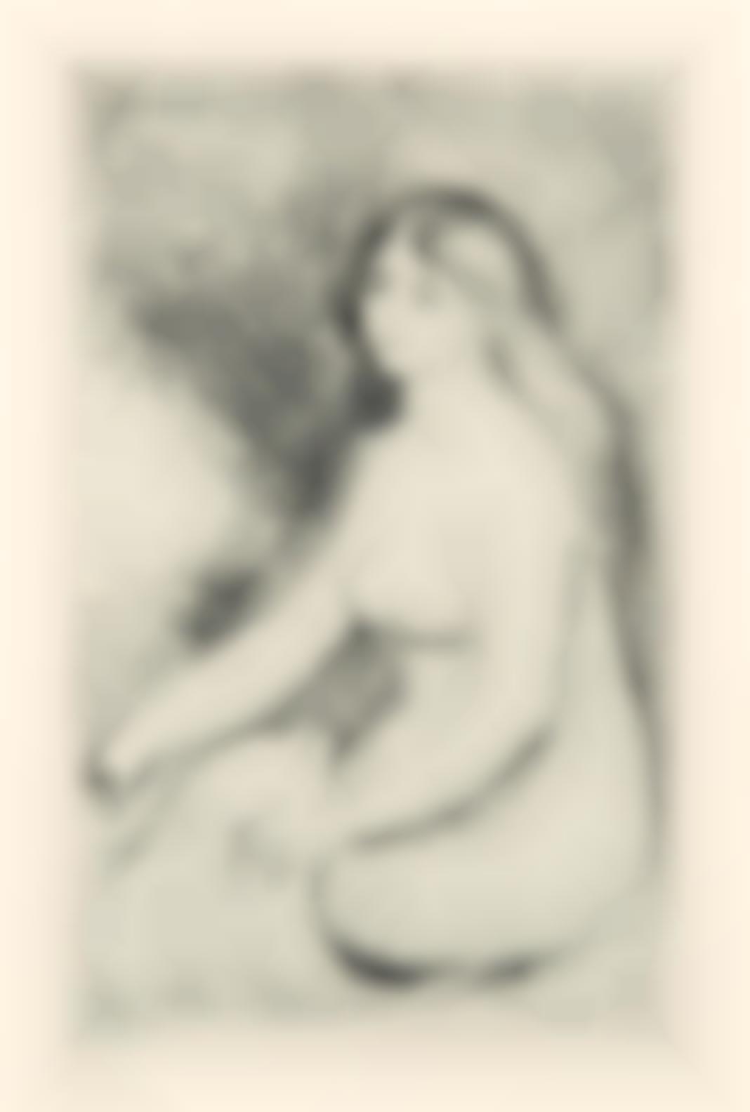 Pierre-Auguste Renoir-Baigneuse Assise, From Art Et Nature (D. 11), C. 1897-1897