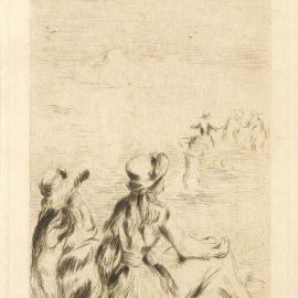 Pierre-Auguste Renoir-Sur La Plage, A Berneval (D.; S. 5), C.1892-1892
