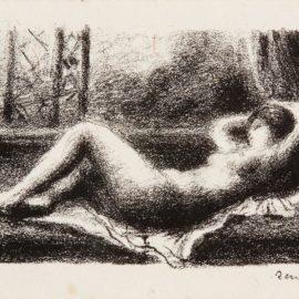 Pierre-Auguste Renoir-Odalisque (D. 35)-1904