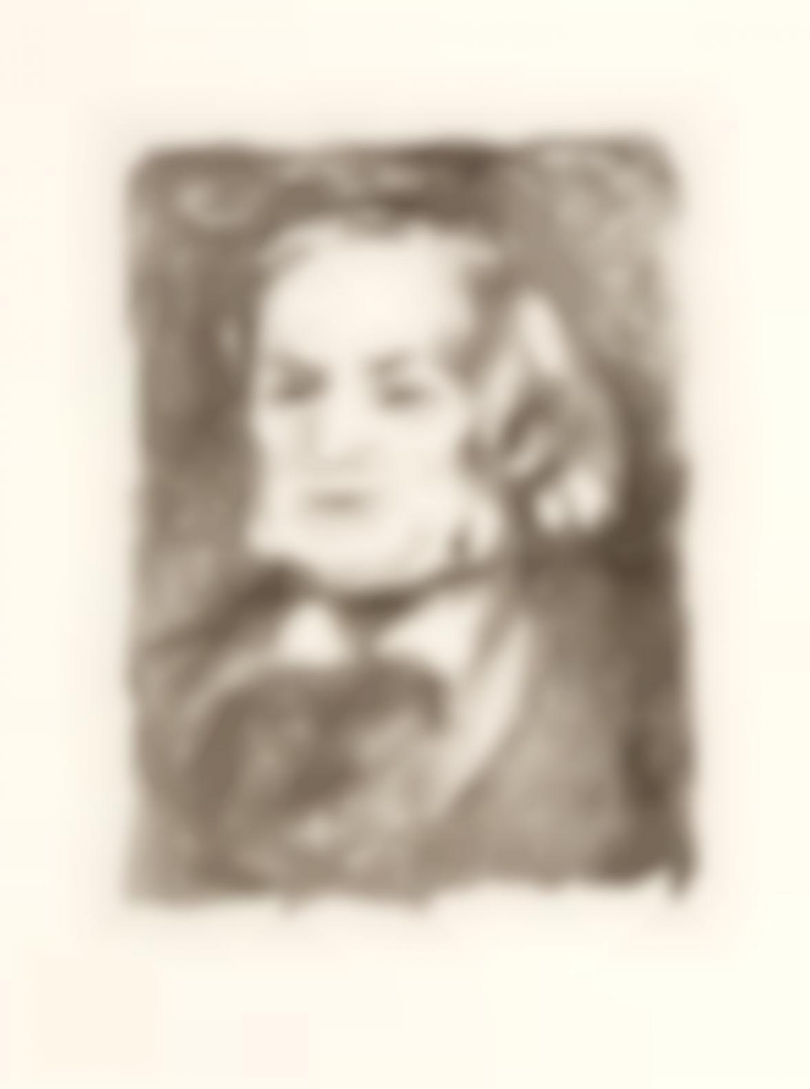 Pierre-Auguste Renoir-Richard Wagner (D. 23), C. 1900-1900