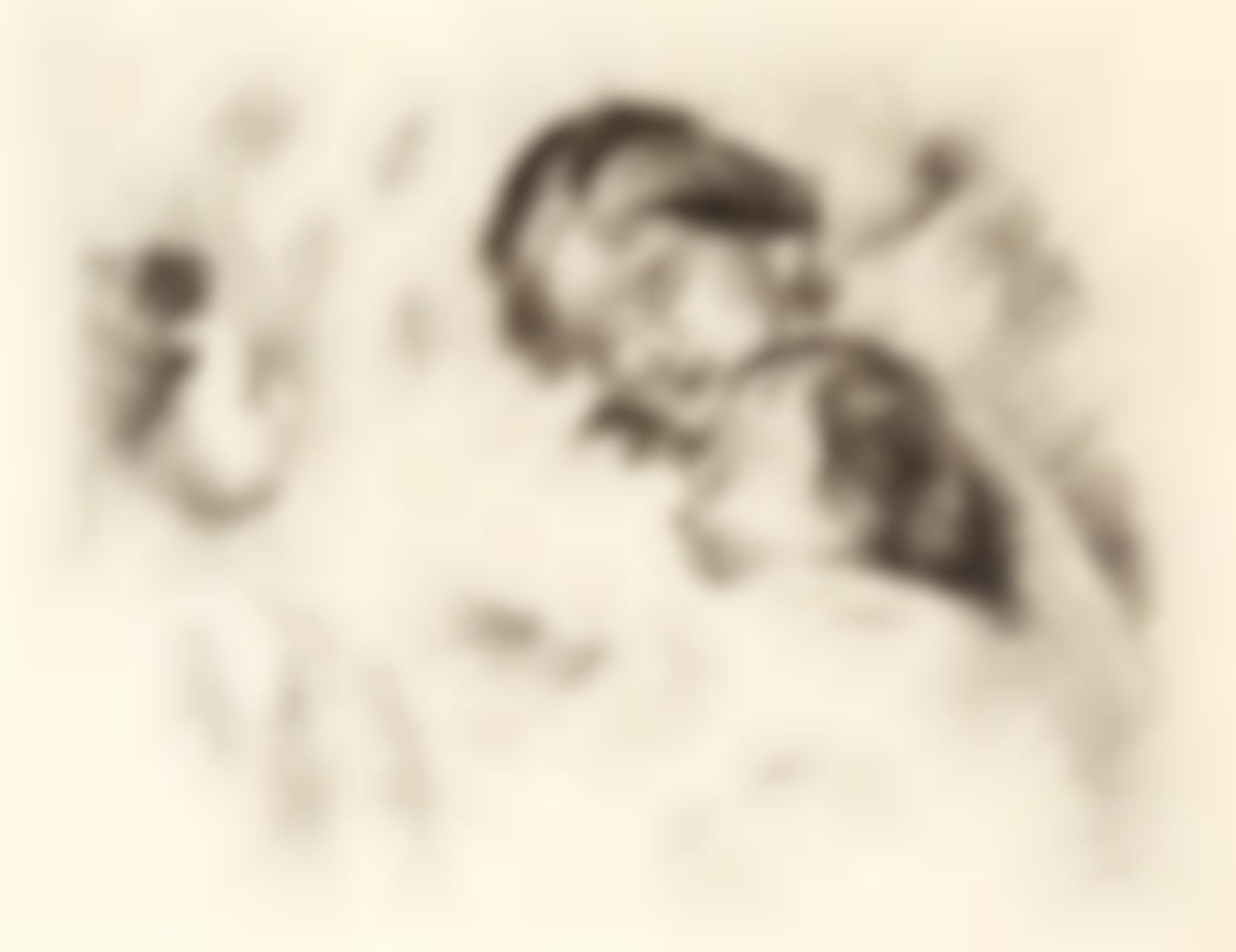 Pierre-Auguste Renoir-Une Mere Et Deux Enfants (D. 54), C. 1912-1912