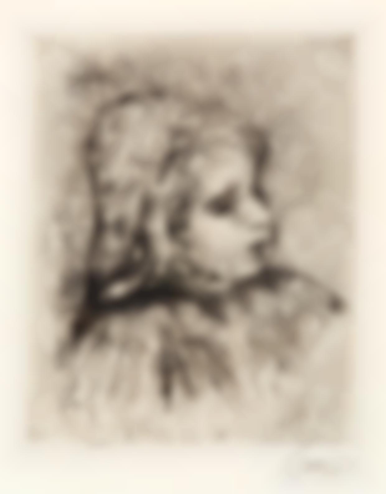Pierre-Auguste Renoir-Claude Renoir, De Trois-Quarts A Droite (D. 18), 1908-1908