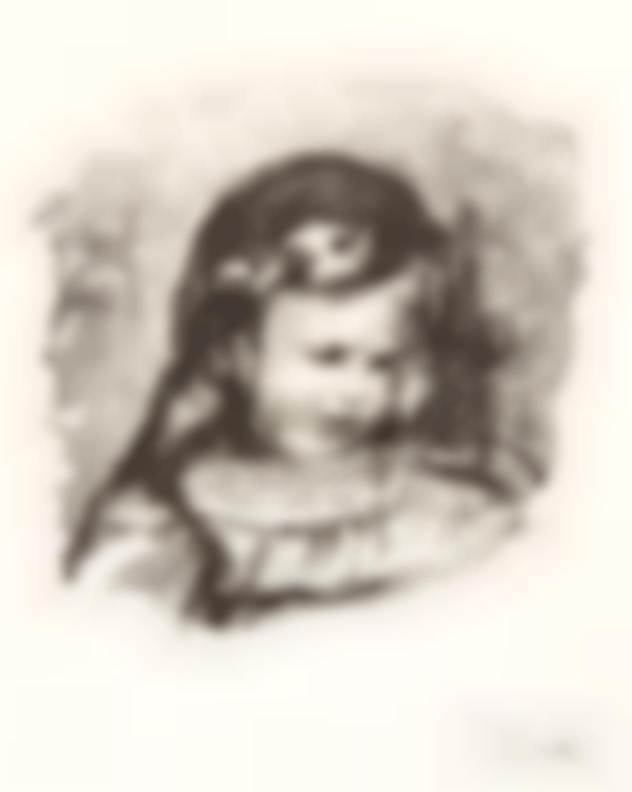 Pierre-Auguste Renoir-Claude Renoir, La Tete Baissee (D. 39), 1904-1904