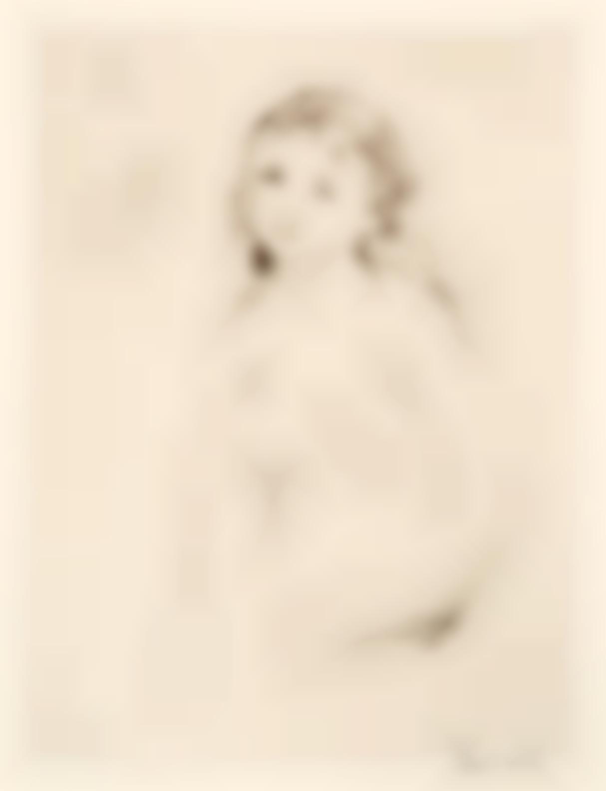 Pierre-Auguste Renoir-Etude Pour Une Baigneuse (D. 16), C. 1906-1906