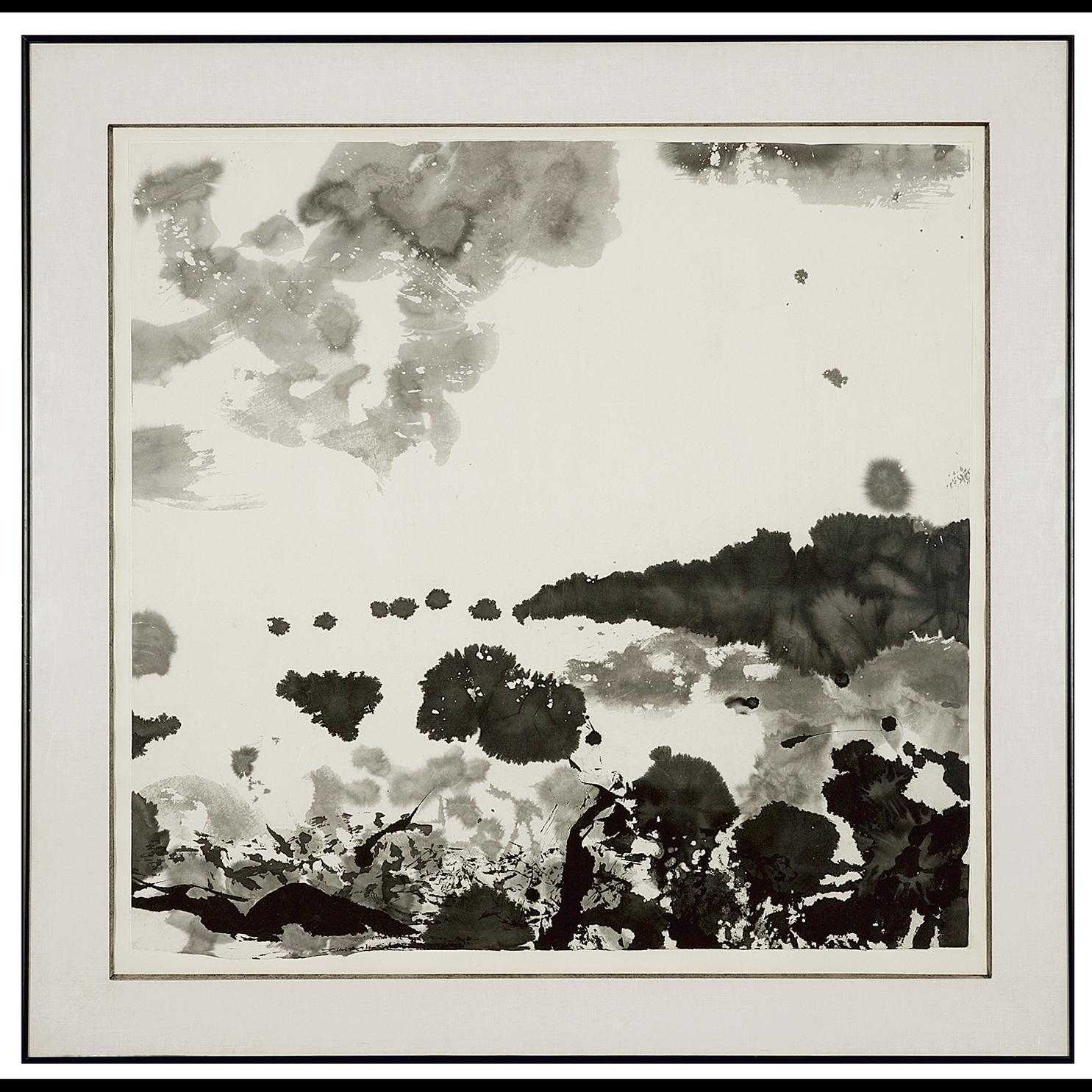 Zao Wou-Ki-Sans Titre-1984