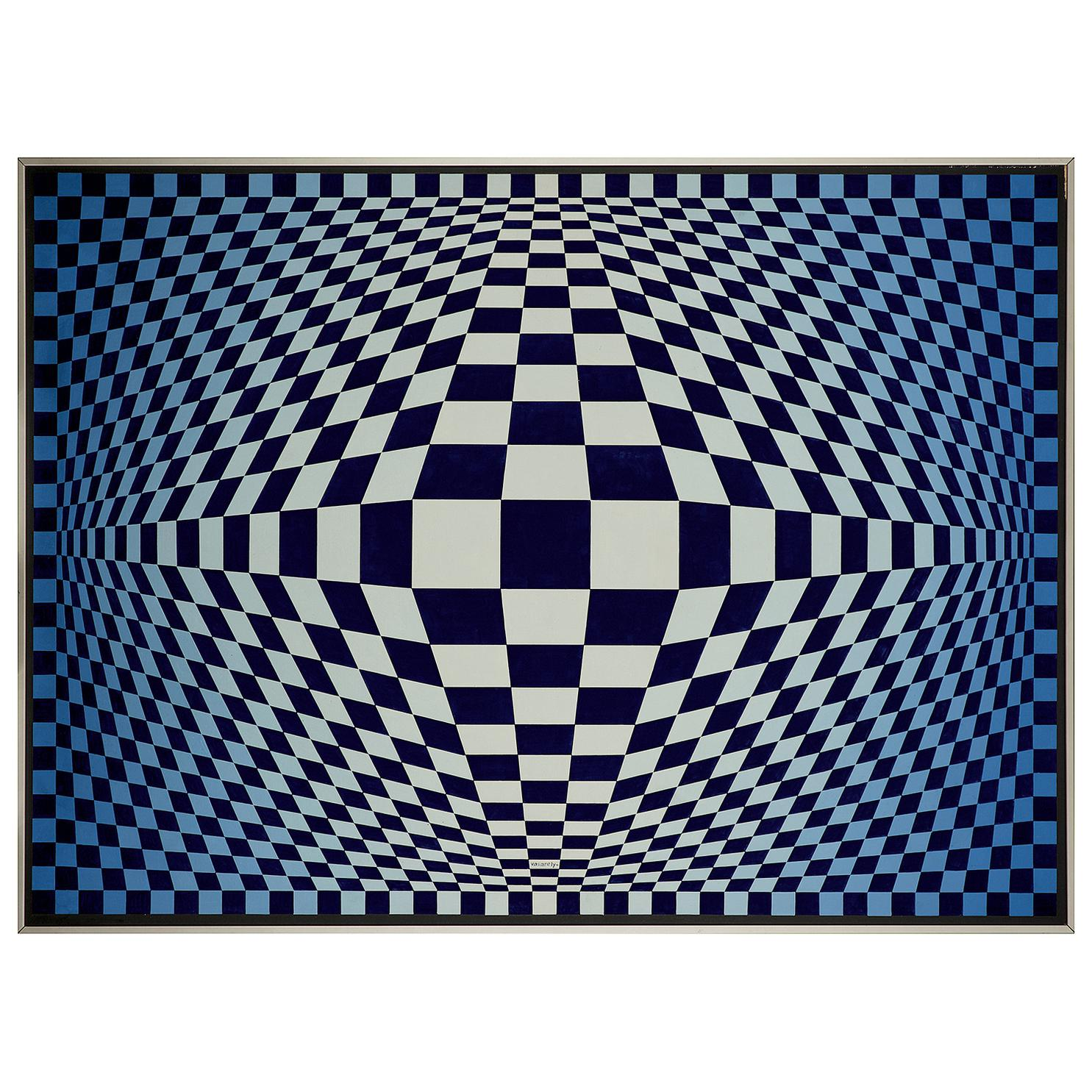 Victor Vasarely-Rious-1980
