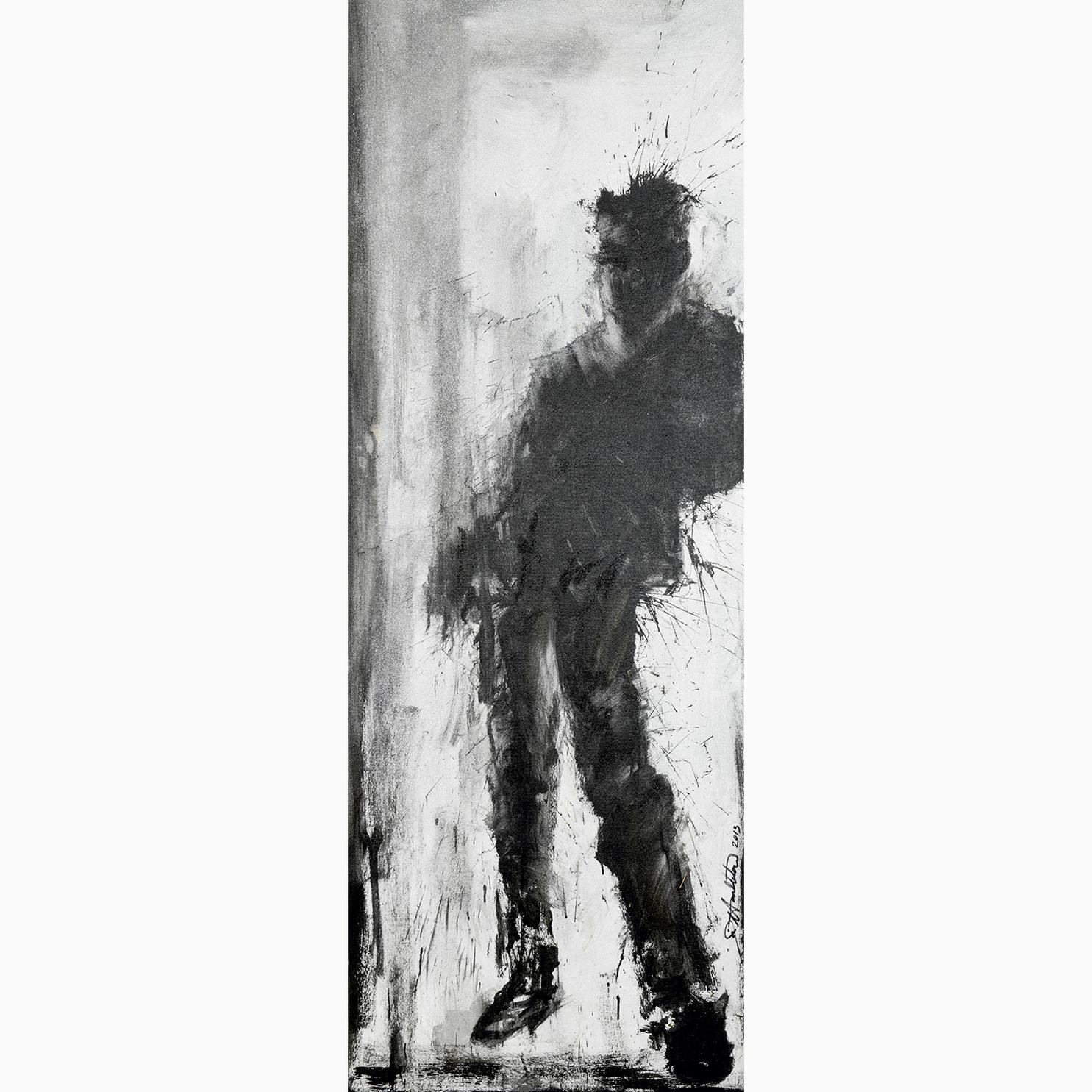 Richard Hambleton-Standing Shadow-2013