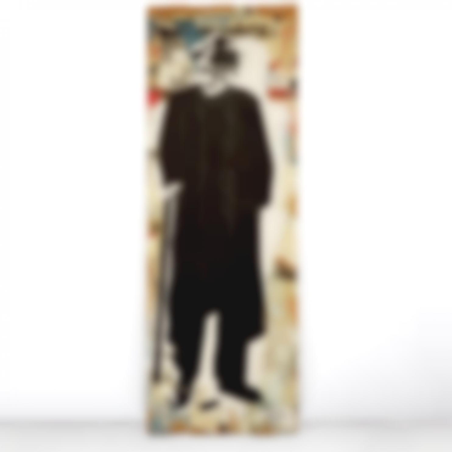 Blek le Rat-Vieil Homme A La Canne (Marcel Dassault)1987-1987