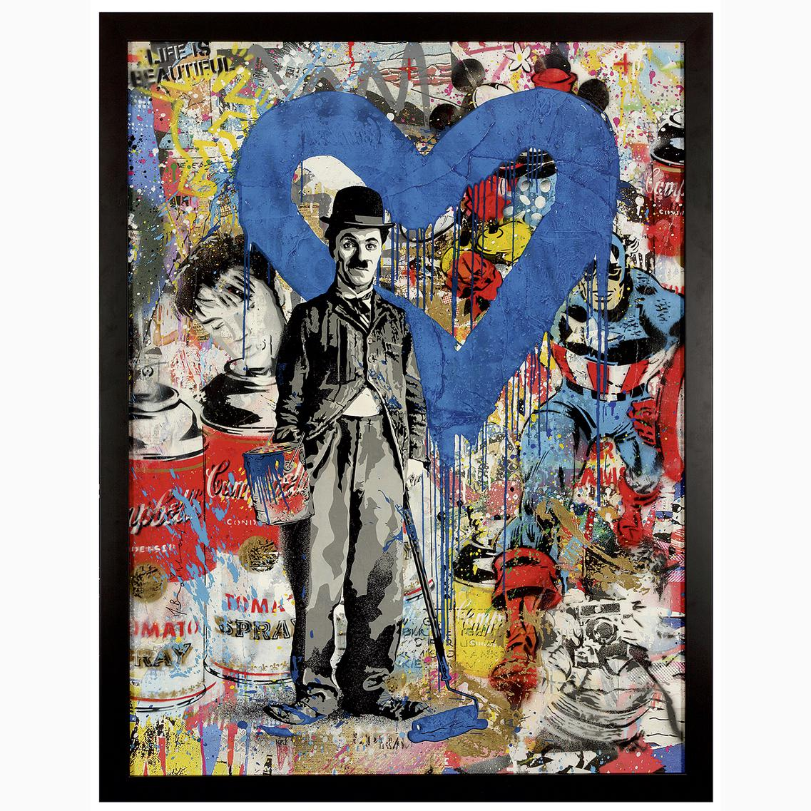 Mr Brainwash - Chaplin-2017