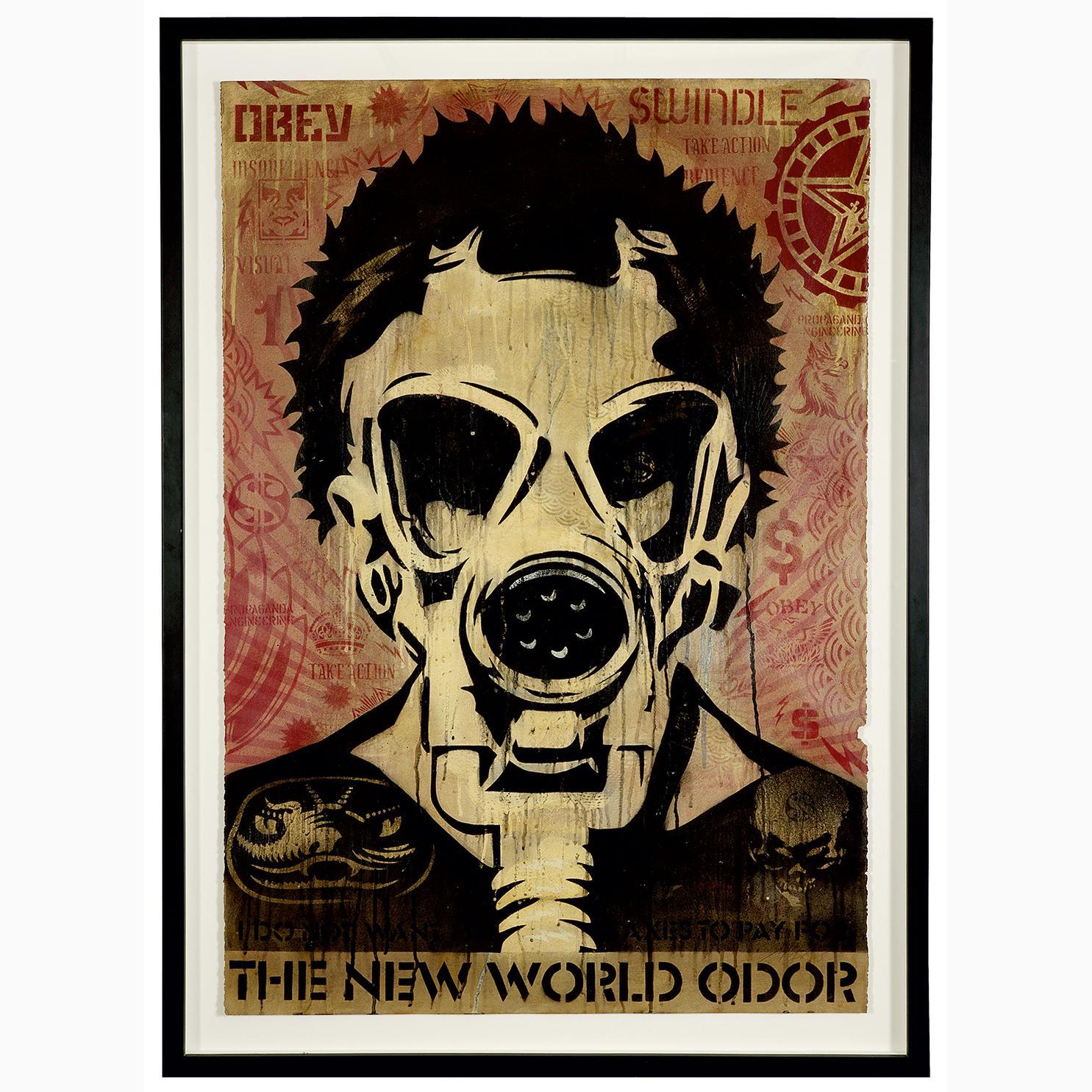 Shepard Fairey-New World Odor-2005