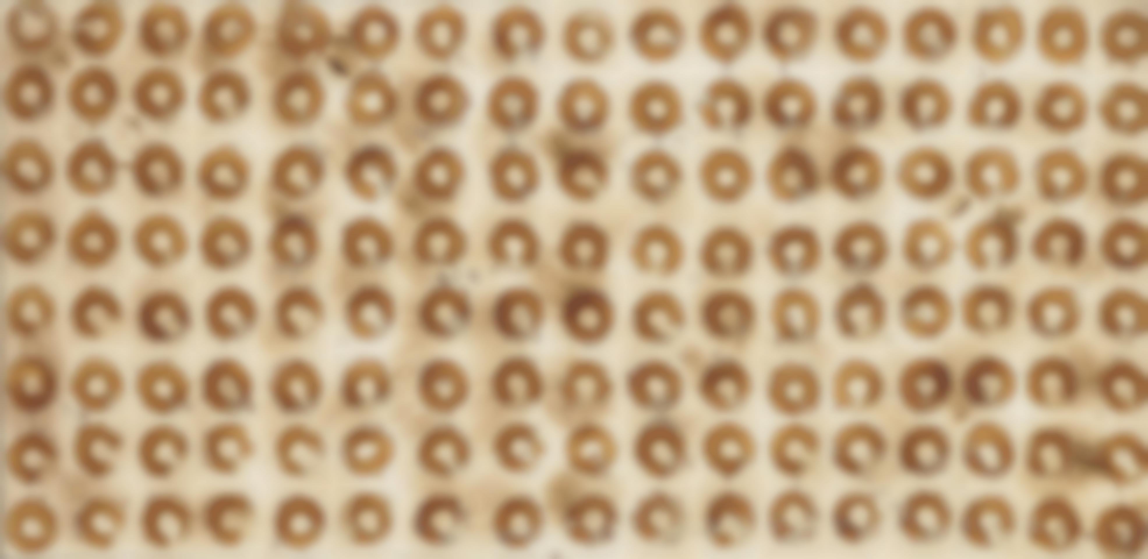 Jiri Georg Dokoupil-Untitled (136 Pineapple Slices)-