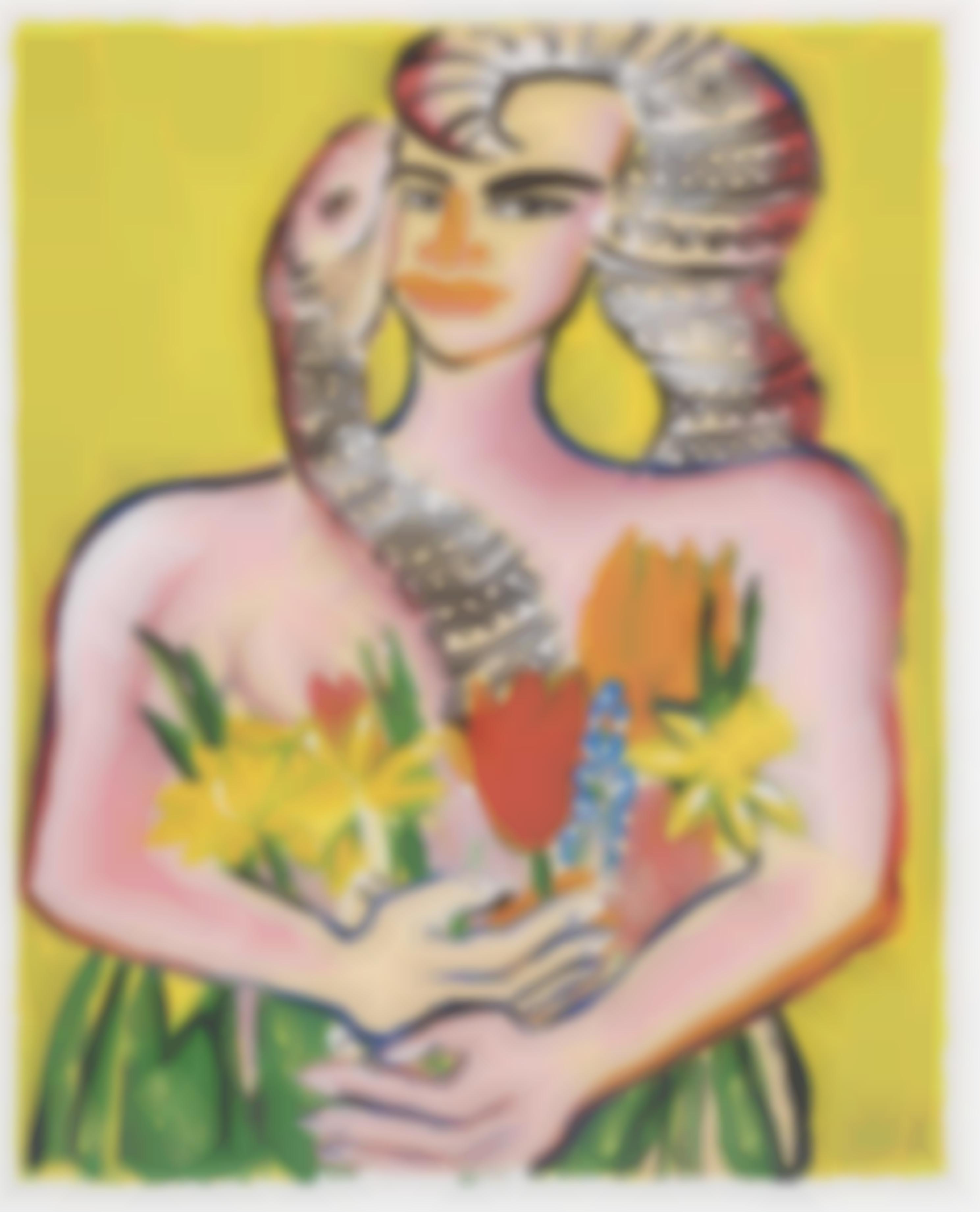 Elvira Bach-Untitled-