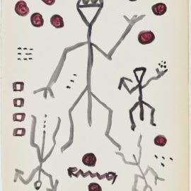 A.R. Penck-Untitled