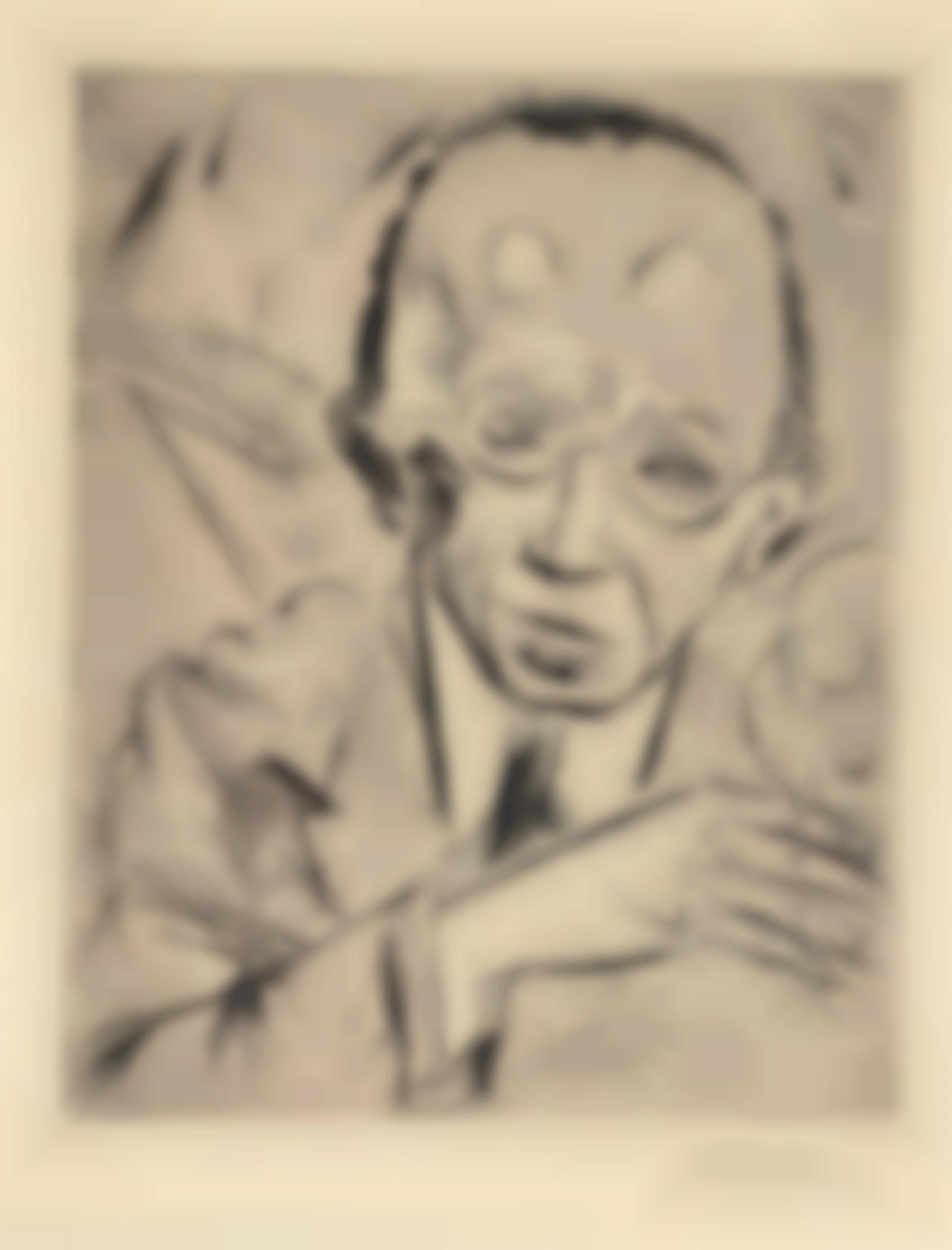Max Pechstein-Sitting Nude-1918