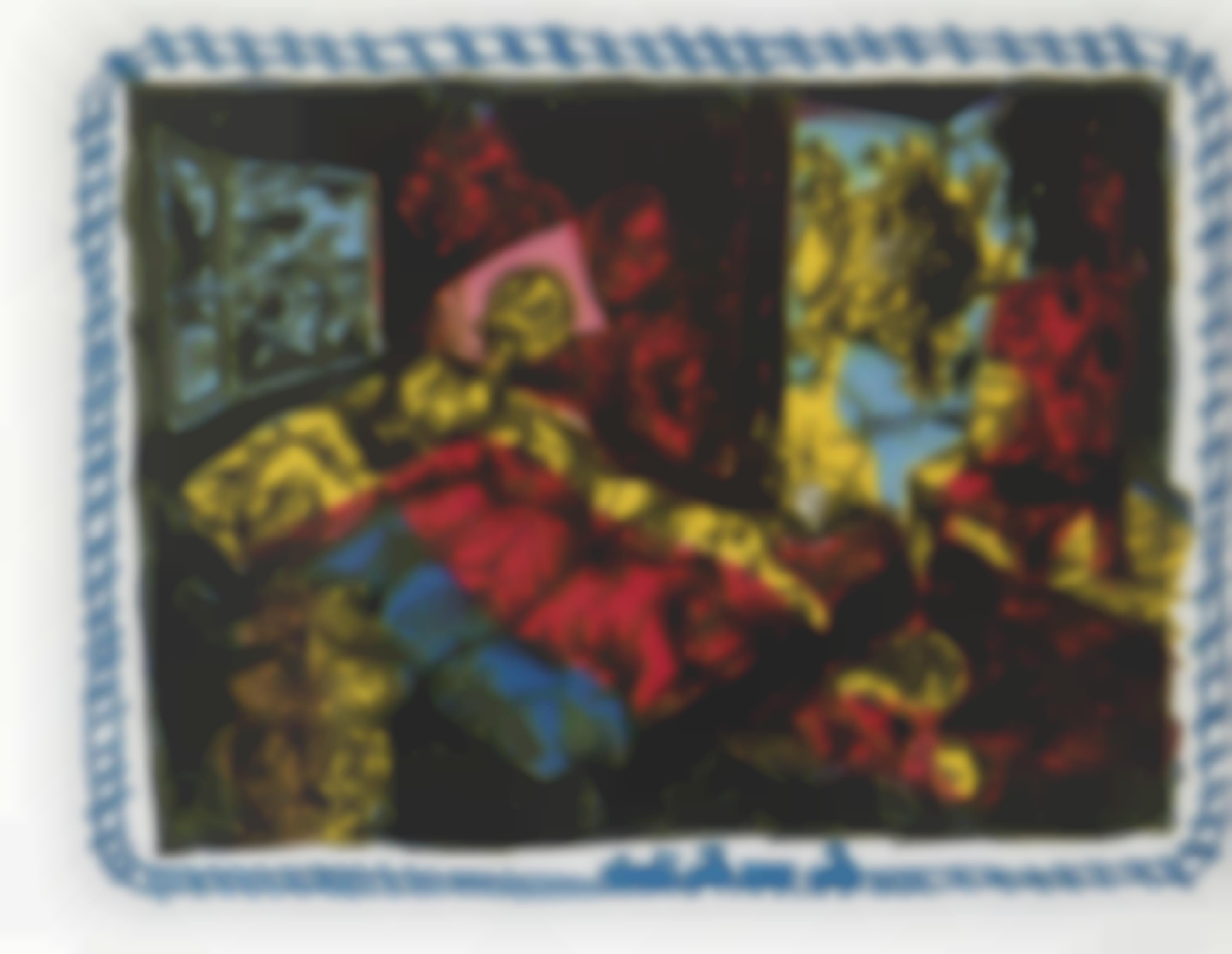 Jorg Immendorff-Surrealist Tribunal-1998