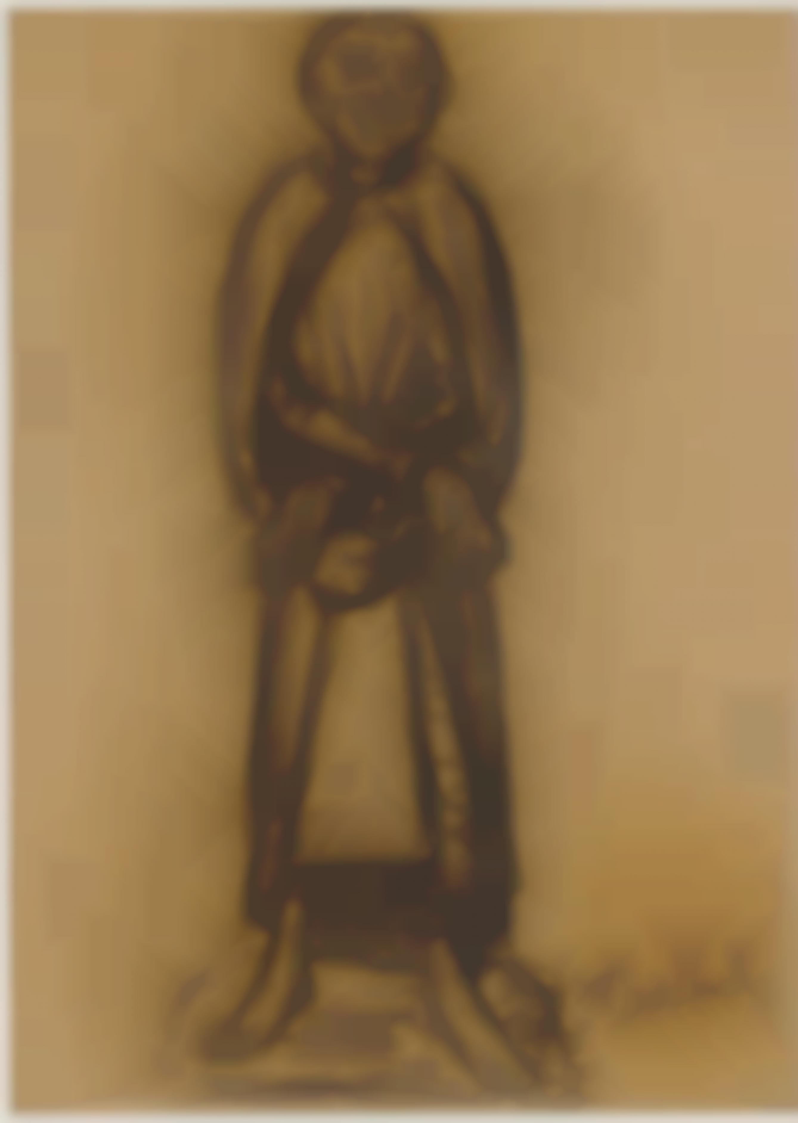 Ernst Barlach-The Spendthrift-1921