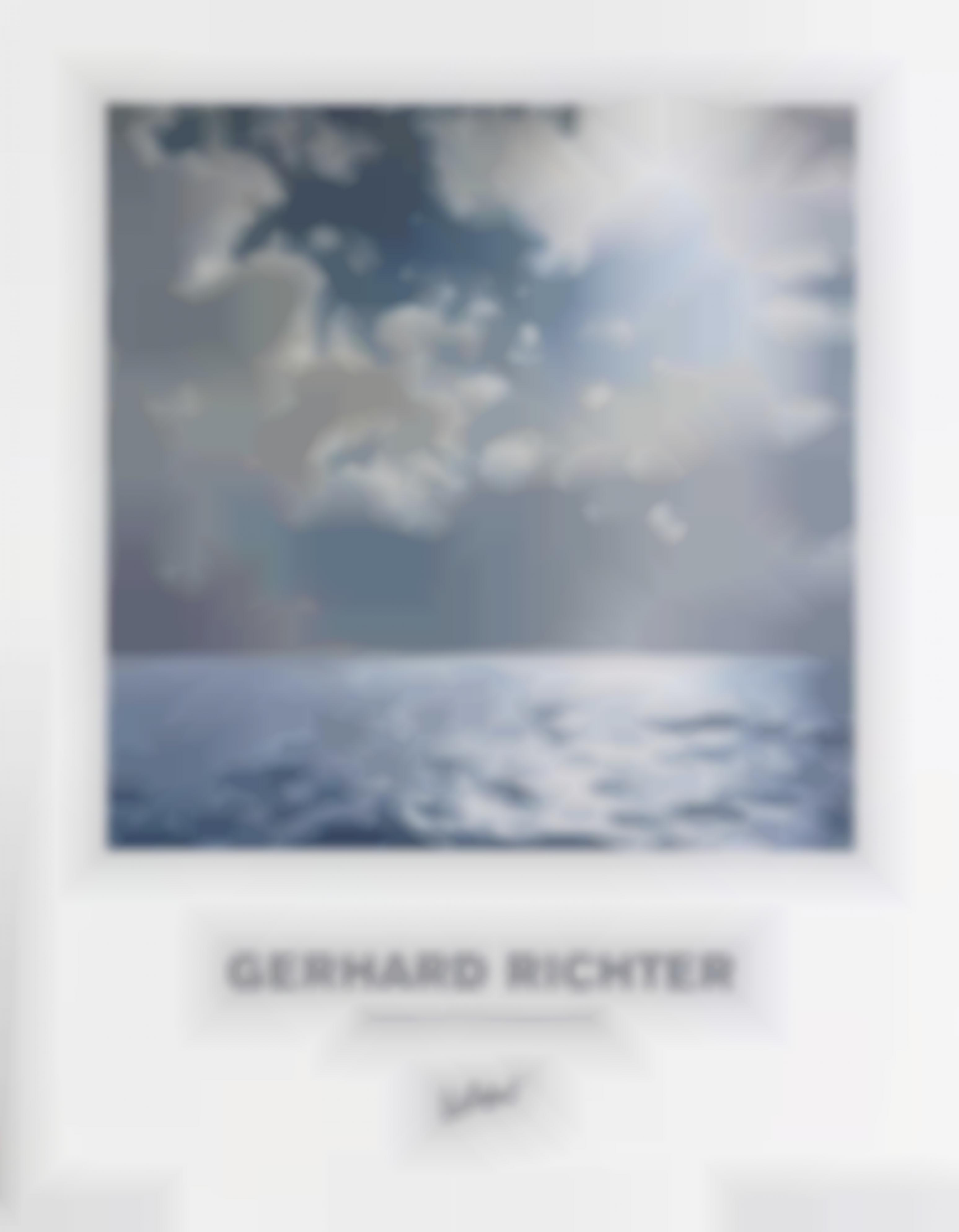 Gerhard Richter-Seascape (Contre-Jour). Abstract Picture. (Collection Of Contemporary Art)-1977