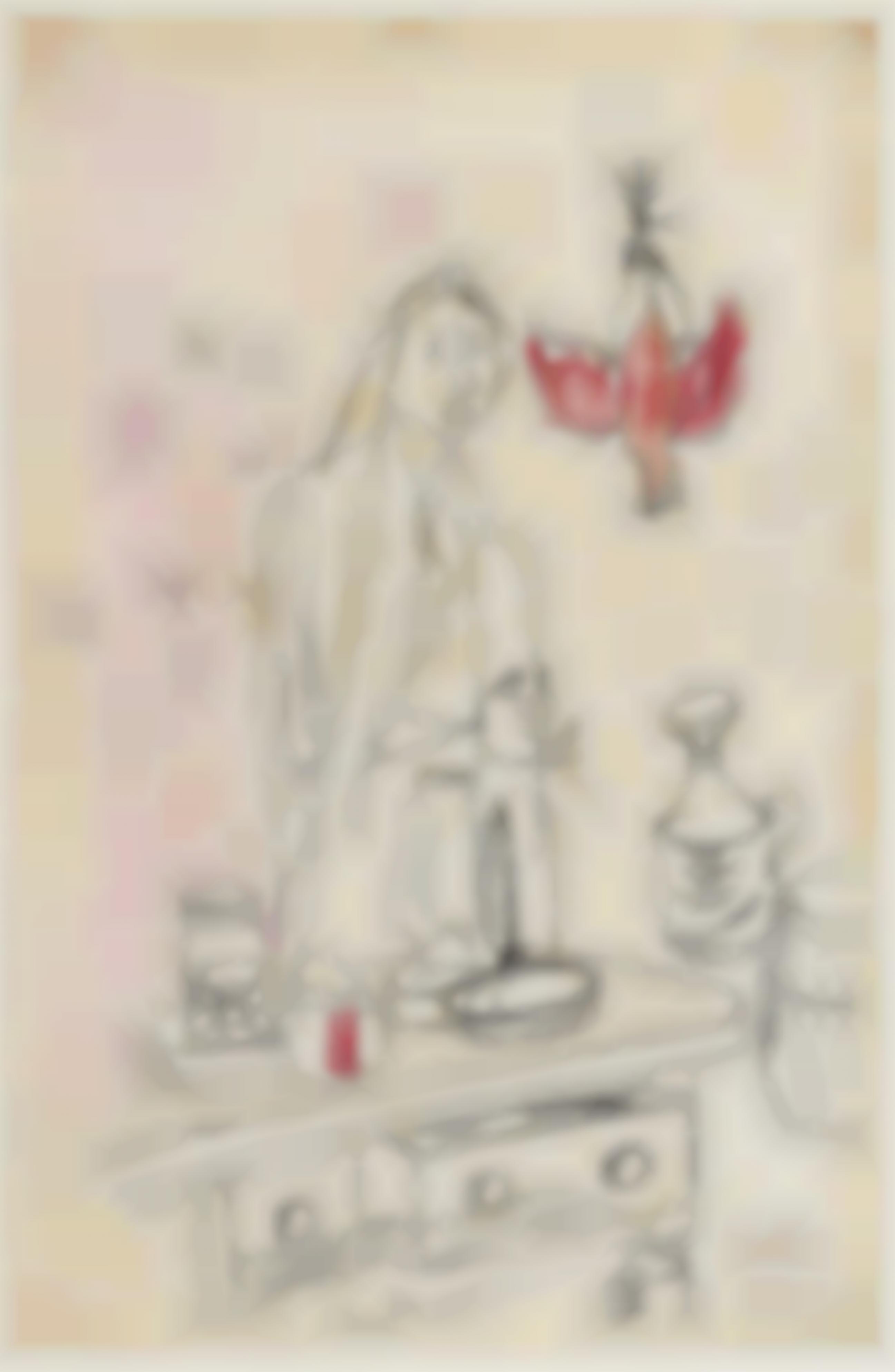 Jankel Adler-Girl In The Kitchen-1944