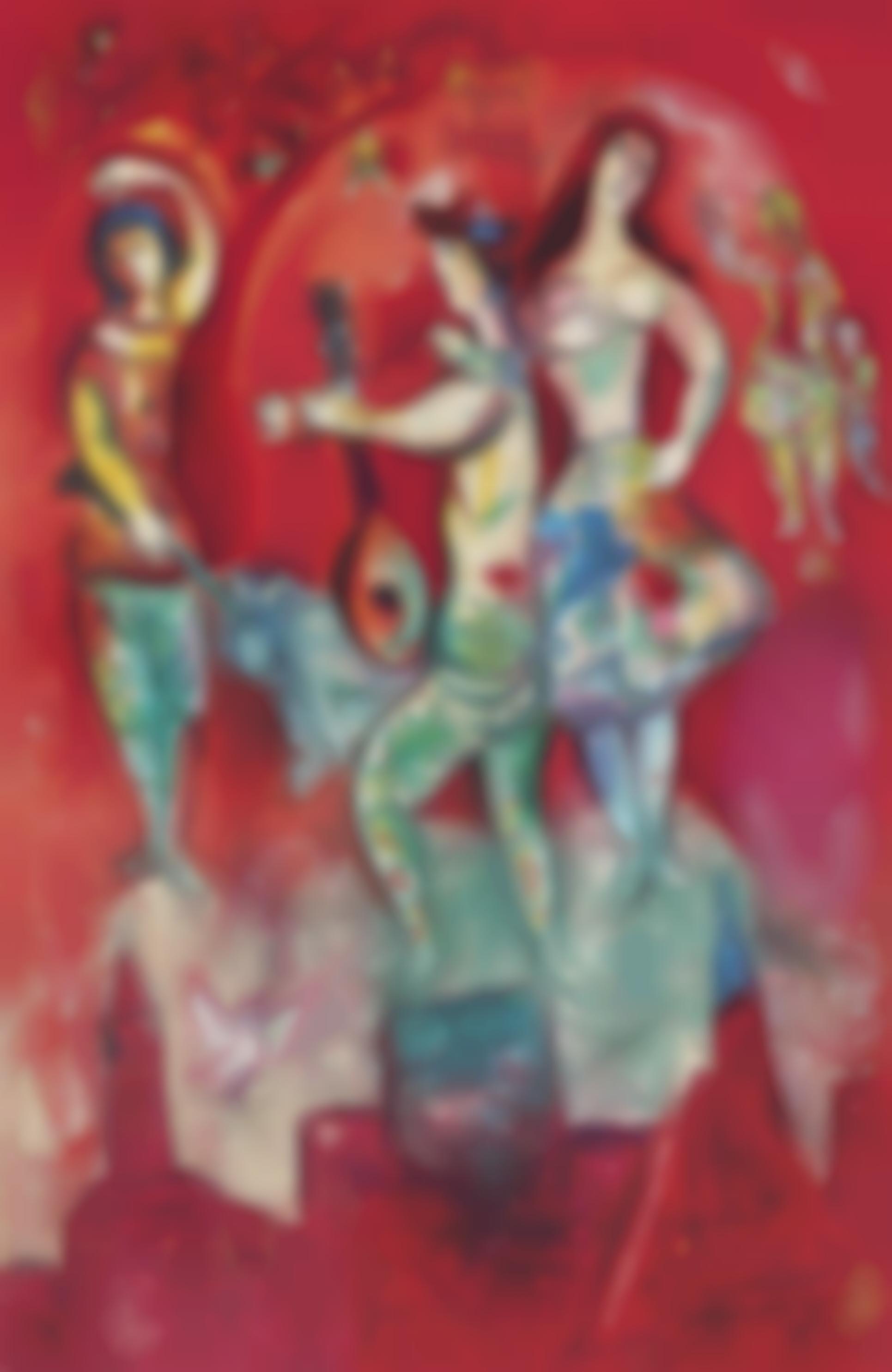 Marc Chagall-Carmen (2. Etat)-1967